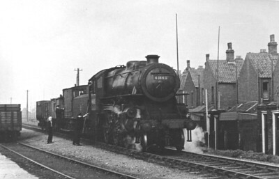 43143 - Ivatt LMS/BR Class 4MT 2-6-0 - built 08/51 by Doncaster Works - 06/65 withdrawn from 41E Staveley - almost certainly taken on the M&GN and possibly at Cromer - this loco was allocated to South Lynn from new until November 1963.