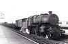 43039 - Ivatt LMS/BR Class 4MT 2-6-0 - built 07/49 by Horwich Works - 12/66 withdrawn from 55A Holbeck - seen here at Hest Bank on a Morecambe - Carnforth trip in June 1962.