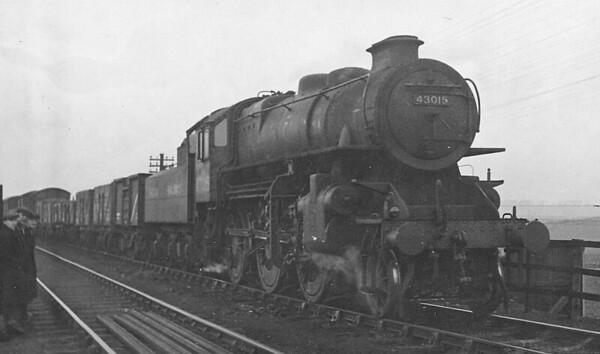 43015 - Ivatt LMS/BR Class 4MT 2-6-0 - built 05/48 by Horwich Works - 07/67 withdrawn from 51L Thornaby.