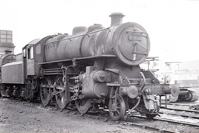 43102 - Ivatt LMS/BR Class 4MT 2-6-0 - built 03/51 by Darlington Works - 12/66 withdrawn from 55B Stourton.