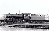 43084 - Ivatt LMS Class 4MT 2-6-0 - built 11/50 by Darlington Works - 09/67 withdrawn from 56F Low Moor - seen here at Grantham - note tablet exchange apparatus from time on M&GNJR.