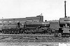 43147 - BR Ivatt Class 4MT 2-6-0 - built 10/51 by Doncaster Works - withdrawn 12/64 from 34E New England - 32G Melton Constable loco from new to 03/59 - seen here at Lincoln in May 1957.
