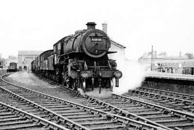 43060 - BR Ivatt Class 4MT 2-6-0 - built 10/50 by Doncaster Works - 12/64 withdrawn from 40E Colwick - seen here at Horncastle after transfer from the M&GN.