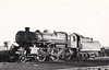 43082 - BR Ivatt Class 4MT 2-6-0 - built 10/50 by Darlington Works - 11/65 withdrawn from 41J Langwith Junction - 35A New England loco from new to 11/63 - seen here at Spalding - note tablet exchange apparatus