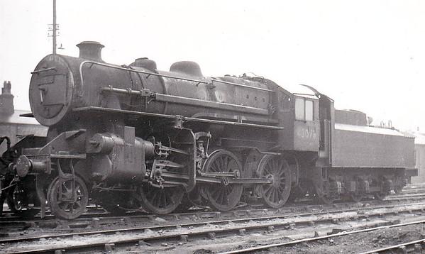 43073 - Ivatt LMS/BR Class 4MT 2-6-0 - built 09/50 by Darlington Works - 08/67 withdrawn from 12D Workington.