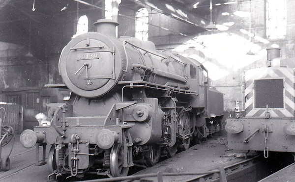 43130 - Ivatt LMS Class 4MT 2-6-0 - built 10/51 by Horwich Works - 07/67 withdrawn from 55A Holbeck.
