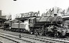 43027 - Ivatt LMS/BR Class 4MT 2-6-0 - built 02/49 by Horwich Works - 05/68 withdrawn from 10D Lostock Hall - seen here at Carlisle with an unidentified sister loco.