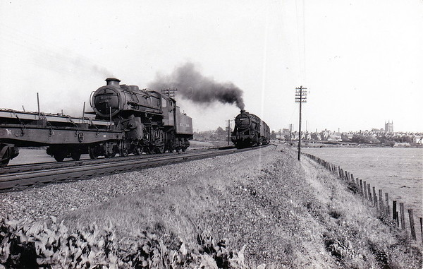 43025 -  Ivatt LMS Class 4MT 2-6-0 - built 01/49 by Horwich Works - 09/65 withdrawn from 12C Workington.