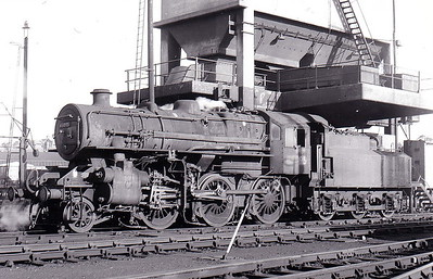 43095 - Ivatt LMS/BR Class 4MT 2-6-0 - built 12/50 by Darlington Works - 11/66 withdrawn from 10A Carnforth, where seen in July 1966 - a South Lynn engine from new until M&GN closure.