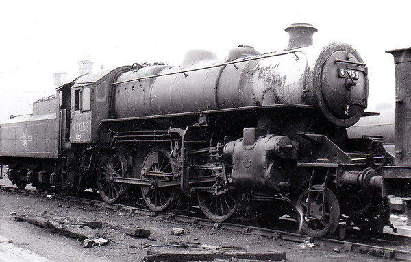43053 - Ivatt LMS Class 4MT 2-6-0 - built 08/50 by Doncaster Works - 04/64 withdrawn from55F Manningham.