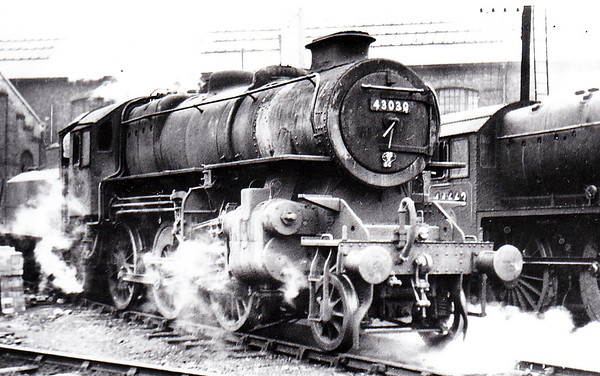 43030 - Ivatt LMS/BR Class 4MT 2-6-0 - built 03/49 by Horwich Works  - 11/66 withdrawn from 55F Manningham.