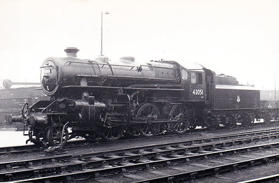 43051 - Ivatt LMS Class 4MT 2-6-0 - built 07/50 by Doncaster Works - 01/67 withdrawn from 55F Manningham.