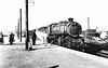 43150 - BR Ivatt Class 4MT 2-6-0 - built 11/51 by Doncaster Works - withdrawn 01/65 from 34E New England - seen here at Norwich City on 28/02/59.