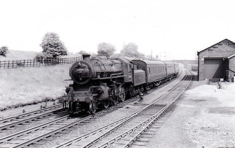 43042 - Ivatt LMS Class 4MT 2-6-0 - built 08/49 by Horwich Works - 02/66 withdrawn from 9F Heaton Mersey.