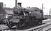 40144 - Stanier LMS Class 3P 2-6-2T - built 11/35 by Derby Works as LMS No.144 - 02/49 to BR No.40144 - 12/61 withdrawn from 1A Willesden - apparently withdrawn (note missing buffer).