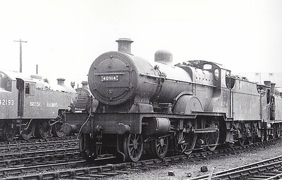 40914 - Fowler LMS Compound Class 4-4-0 - built 06/27 by Vulcan Foundry Co. as LMS No.914 - 05/48 to BR No.40914 - 09/54 withdrawn from 67A Corkerhill.