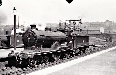 54496 - Pickersgill CR Class 72 4-4-0 - built 06/21 by Armstrong Whitworth as CR No.91 - 1924 to LMS No.14496 - 10/48 to BR No.54496 - 10/59 withdrawn from 60A Inverness.