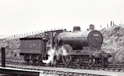 54482 - Pickersgill CR Class 72 4-4-0 - built 07/20 by St Rollox Works as CR No.77 - 1924 to LMS No.14482 - 06/50 to BR No.54482 - 03/62 withdrawn from 60B Aviemore.