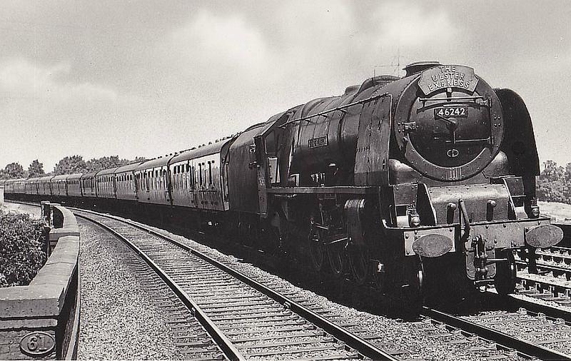 46242 CITY OF GLASGOW - Stanier LMS Coronation Scot Class 4-6-2 -