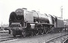 46251 CITY OF NOTTINGHAM - Stanier LMS Coronation Scot Class 4-6-2 - built 06/44 by Crewe Works as LMS No.6251 - 05/48 to BR No.46251 - 10/64 withdrawn from 5A Crewe North.