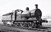 43453 - Johnson MR 3F 0-6-0 - built 03/1894 by Dubs & Co. as MR No.2177 - 1907 to MR No.3453, 01/50 to BR No.43453 - 03/63 withdrawn from 14E Bedford - seen here at Wellingborough, 04/56.