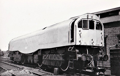 36001 - Bulleid SR Leader Class 0-6-6-0T - built 06/49 by Brighton Works - 11/50 withdrawn while still under test.