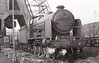32331 BEATTIE - Billinton LBSCR Class L 4-6-4T - built 12/21 by Brighton Works as LBSCR No.331 - 1931 to SR No.2331 - 1934 rebuilt by Maunsell as Class N15X 4-6-0 - 05/49 to BR No.32331 - 07/57 withdrawn from 70D Basingstoke - seen here at Nine Elms, 09/55.