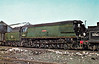34041 WILTON - Bulleid SR Battle of Britain/West Country Class 4-6-2 - built 09/46 by Brighton Works as 21C141 - 02/49 to BR No.34041 - 01/66 withdrawn from 70D Eastleigh, where seen.