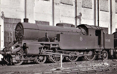 30518 - Urie LSWR/SR Class H16 4-6-2T - built 12/21 by Eastleigh Works as LSWR No.518 - 07/48 to BR No.30518 - 11/62 withdrawn from 70B Feltham.