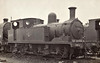 30225 - Adams LSWR Class O2 0-4-4T - built 11/1892 by Nine Elms Works as LSWR No.225 - 02/49 to BR No.30225 - 12/62 withdrawn from 71A Eastleigh, where seen 03/63.