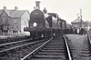 30025 - Drummond LSWR Class M7 0-4-4T - built 02/1899 by Nine Elms Works as LSWR No.25 - 12/49 to BR No.30025 - 05/64 withdrawn from 7oE Sailsbury - seen here at Budleigh Salterton with sister 30024 on the 'South Western Ltd' rail tour, September 2nd, 1962.