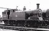 30249 - Drummond LSWR Class M7 0-4-4T - built 05/1897 by Nine Elms Works as LSWR No.249 - 08/50 to BR No.30249 - 07/63 withdrawn from 71A Eastleigh - seen here at Nine Elms, 05/61.