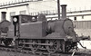 DS680 - Stroudley LBSCR Class A1X 0-6-0T - built 12/1875 by Brighton Works as LBSCR No.54 WADDON - 1900 to LBSCR No.654 WADDON, 1904 to SECR No.751,  1931 to SR No.1751, 01/48 to BR No.DS680 as Lancing Works Pilot - 06/62 withdrawn, preserved, shipped to Canada - seen here at Eastleigh.