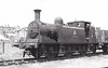 W4 WROXALL - Stroudley LBSCR Class E1 0-6-0T - built 11/1878 by Brighton Works as LBSCR No.131 GOURNAY - 1906 name removed - 06/33 to IOW as W4 WROXALL - 10/60 withdrawn from 71F Ryde IOW, where seen 05/58.