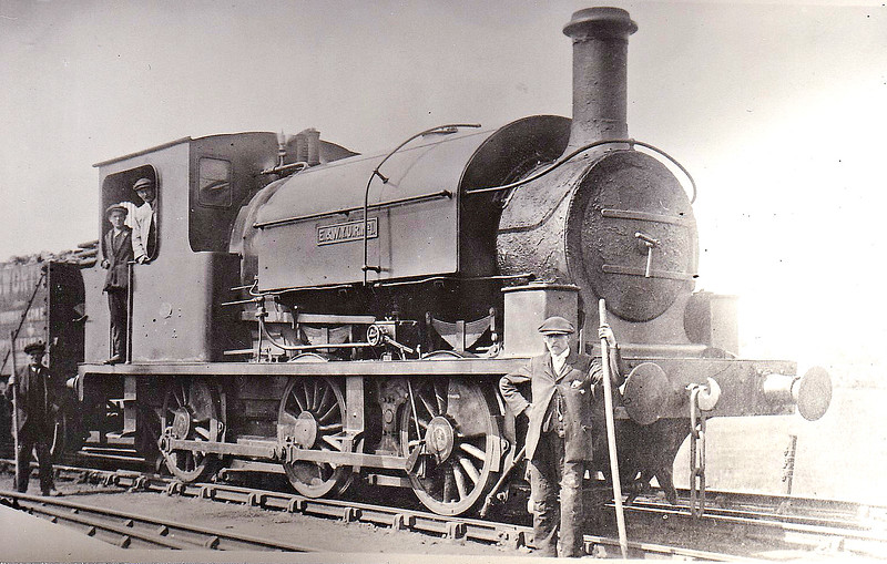 No.1 - E&WYUR LNER Class J84 0-6-0ST - built 1895 by Manning Wardle & Co., Works No.1307 - 1923 to LNER No.3112 - 1923 withdrawn.