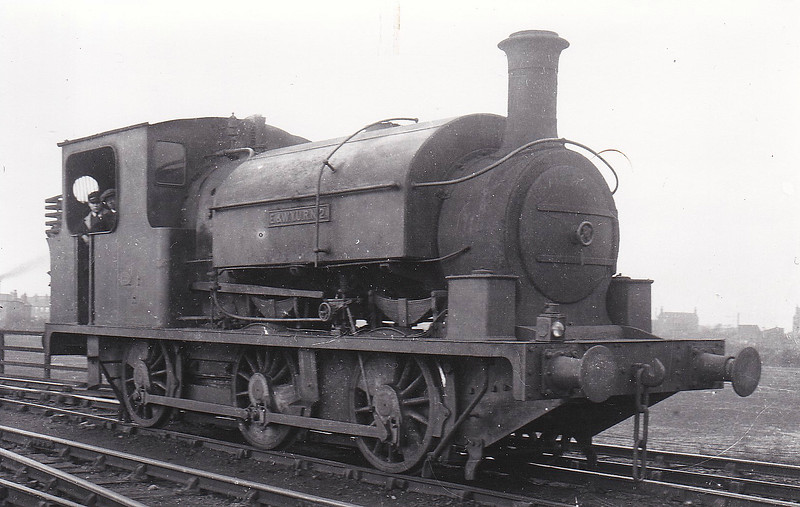 No.2 - E&WYUR LNER Class J84 0-6-0ST - built 1895 by Manning Wardle & Co., Works No.1308 - 1923 to LNER No.3113 - 1928 withdrawn.