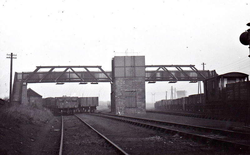 ROBIN HOOD SIDINGS - This was the main base of operations on the South Yorkshire coalfield for the E&WYJR, seen here in January 1932.