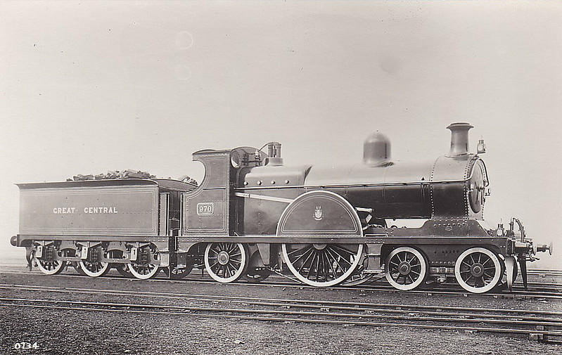 970 - Pollitt GCR Class 13 LNER Class X4 4-2-2 - built 09/00 by Gorton Works - LNER No.5970 not applied - 02/24 withdrawn from Brunswick MPD.