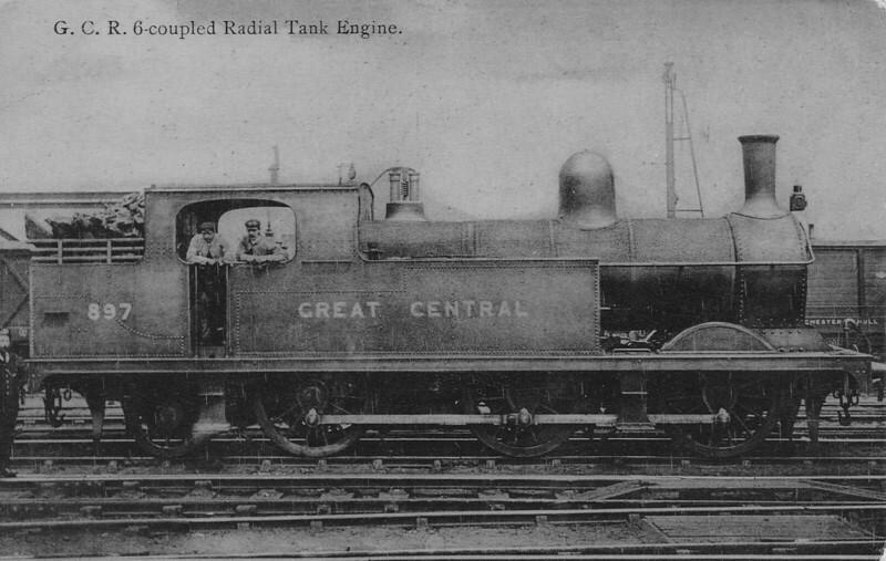 897 - Pollitt GCR Class 9F LNER Class N5 0-6-2T - built 05/1899 by Gorton Works - 04/24 to LNER No.5897, 08/46 to LNER No.9321, 08/50 to BR No.69321 - 10/56 withdrawn from 36E Retford Thrumpton.