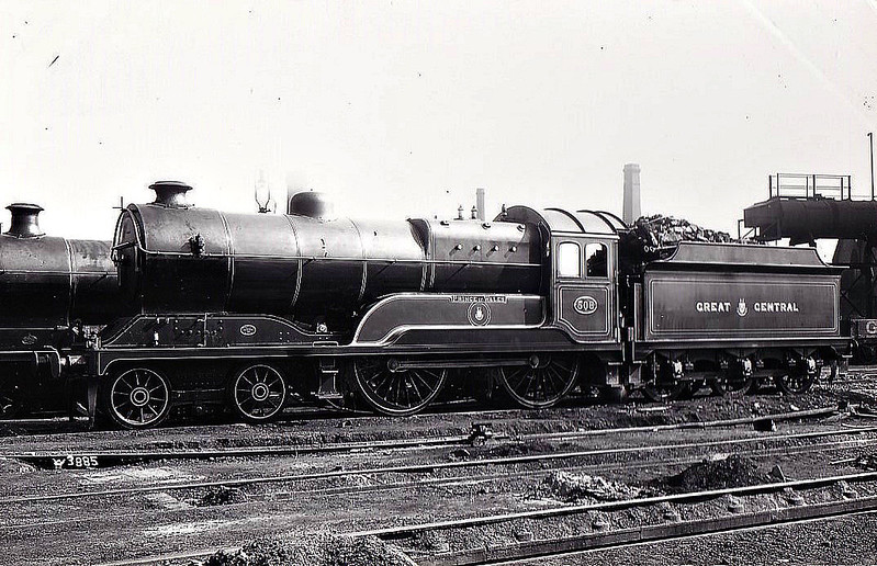 508 PRINCE OF WALES - Robinson Class D11 4-4-0 - built 03/20 by Gorton Works - 04/24 to LNER No.5508, 10/46 to LNER No.2662, 05/49 to BR No.62662 - 08/60 withdrawn from 41A Sheffield Darnall.