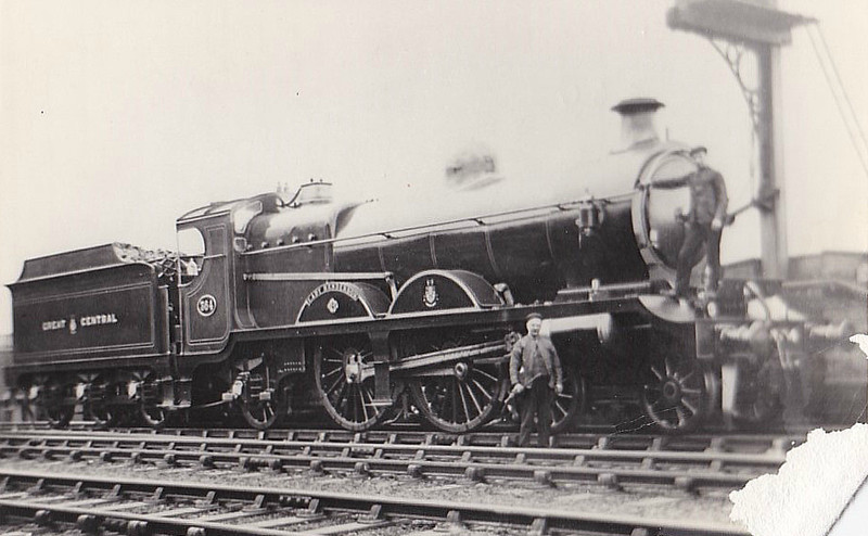 364 LADY FARINGDON - Robinson Class 8E 4-4-2 - built 12/06 by Gorton Works - 12/25 to LNER No.5364, 11/46 to LNER No.2897 - 12/47 withdrawn from Immingham,