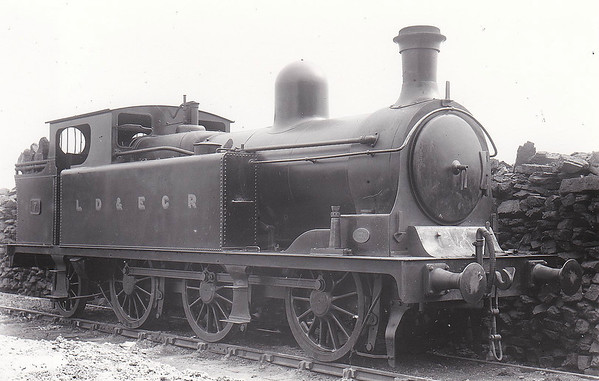 LANCASHIRE, DERBYSHIRE & EAST COAST RAILWAY - 7 - Kitson LD&ECR 0-6-2T - built 1895 by Kitson & Co. as LD&ECR No.24 - 1908 to GCR Class A No.1157,  03/25 to LNER Class N6 No.6157 - 08/35 withdrawn.  The Lancashire, Derbyshire & East Coast Railway was a railway with a big name and big ambitions and not much track mileage! It never got anywhere near to Lancashire or the East Coast! Opened in 1897, its mainline ran from Chesterfield Market Place Station to a junction with the GNR at Pyewipe Junction just west of Lincoln with a branch to Sheffield from Langwith Junction built in 1900. Centre of operations was at Tuxford, where there was a junction with the Great Northern mainline. The locomotive, carriage and wagon works were here. Despite heavy coal traffic, the line was impoverished and was taken over by the Great Central Railway in 1907. The company owned 37 locomotives, all built by Kitson of Leeds, 18 Class A 0-6-2T, 4 Class B 0-6-0T shunting engines, 6 Class C 0-4-4T for passenger work and 9 Class D 0-6-4T, all of which passed to the GCR and then the LNER.