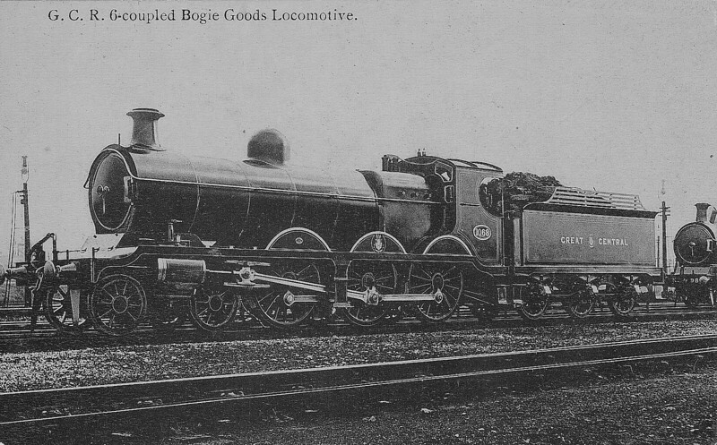 1068 - Robinson GCR Class 8 LNER Class B5 4-6-0 - built 11/02 by Neilson Reid & Co. - 01/26 to LNER No.6068, 07/46 to LNER No.1679 - 12/47 withdrawn from Mexborough MPD.