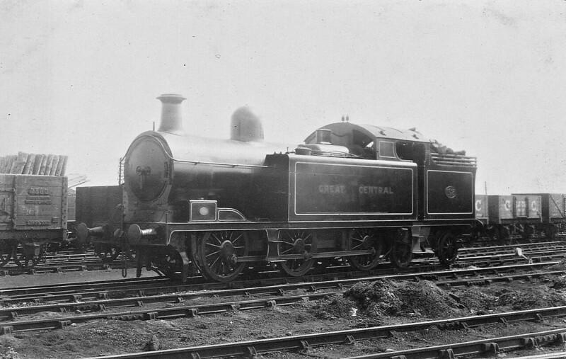 1145 - Markham LD&ECR Class D GCR Class D LNER Class M1 0-6-4T - built 12/06 by Kitson & Co. as LD&ECR No.A1 - 01/08 to GCR No.1145, 10/24 to LNER No.6145 - 09/41 withdrawn from Tuxford MPD.