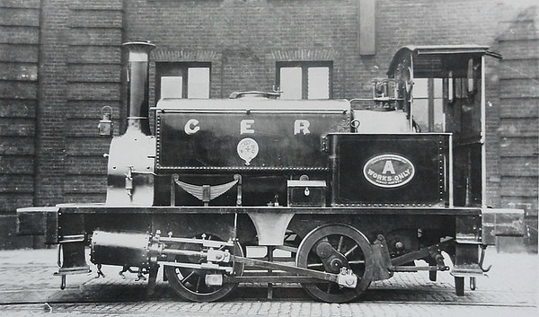 200 - Johnson GER Class 200 0-4-0ST - built 1872 by Manning Wardle & Co., 'H' Class - 1894 to Stratford Works as WORKS A, 1895 rebuilt - 1922 withdrawn.