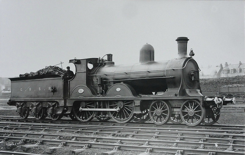 10 - Manson GNSR Class O LNER Class D42 4-4-0 - built 1888 by Kitson & Co.  - 1923 to LNER No.6810 - 11/29 withdrawn from Keith MPD.