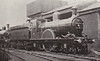 61 - Stirling GNR Class No.6 2-2-2 - built 06/1869 by Doncaster Works - rebuilt 03/1883 with bigger boiler - 04/1898 rebuilt with Ivatt domed boiler - 11/07 withdrawn from Grantham MPD.