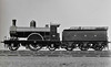 41 - Stirling GNR Class 6 2-2-2 - built 04/1868 by Doncaster Works, Works No.6 - 03/1898 fitted with domed boiler - 04/07 withdrawn from Lincoln MPD.