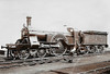 2 - Stirling GNR 4-2-2 - built 12/1871 by Doncaster Works, Works No.77 - 12/1888 reboilered - 11/02 withdrawn from Grantham MPD.