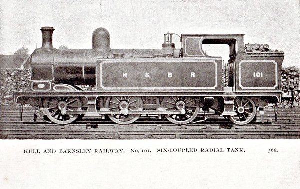 LOCOMOTIVES OF THE HULL & BARNSLEY RAILWAY